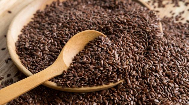 brown flax seed